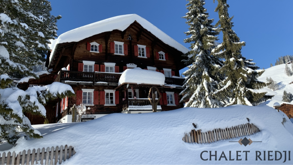 Chalet Riedji Furna Prättigau Graubünden